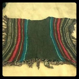 Billabong poncho