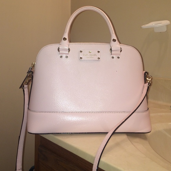 33% off kate spade Handbags - Light pink authentic Kate Spade ...