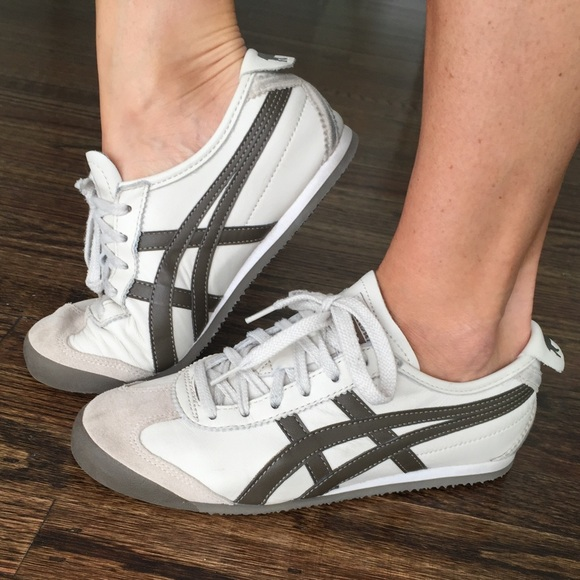 Onitsuka Tiger Leather Sneakers by Adidas