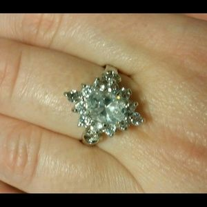 Jewelry - Cocktail Statement Ring CZ Size 7.5
