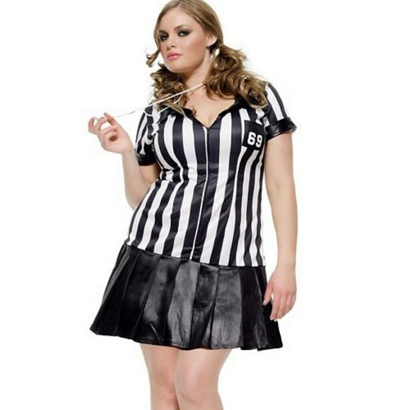 torrid other torrid 3x4x referee halloween costume retired nwt - Cheap Plus Size Halloween Costumes 4x