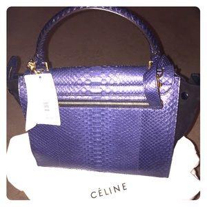 100% off Celine Handbags - ??SALE??CELINE Drummed Calfskin Suede ...