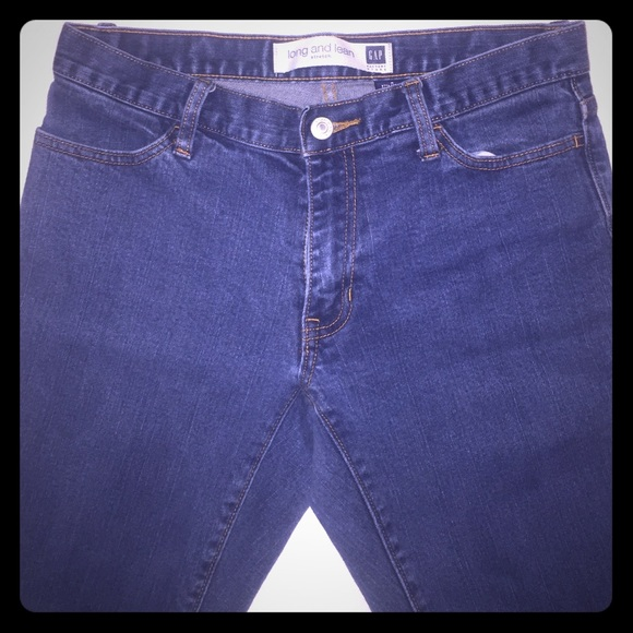 80% off GAP Denim - GAP Long & Lean Stretch Denim Slight Bootcut ...
