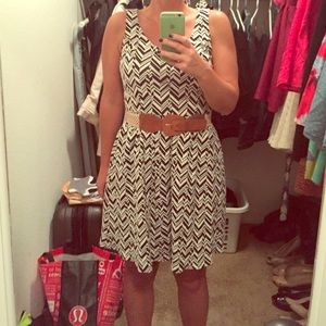 Maeve fit and flare dress from Anthropologie