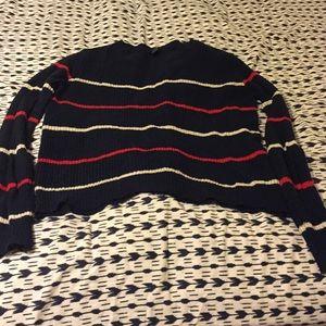 🎈Navy Striped Sweater