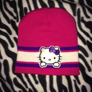 Hello kitty beanie OS