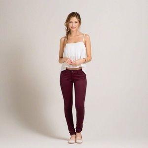 Hollister Pants - Hollister maroon jeans