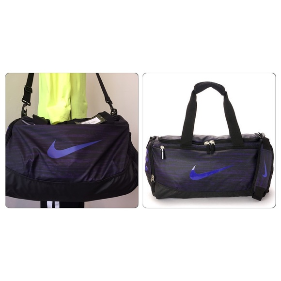5486cfb07d Nike small duffle gym bag in purple