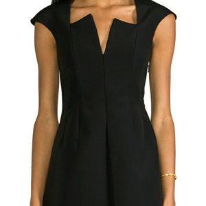 Cameo, black, cap sleeve dress, size medium