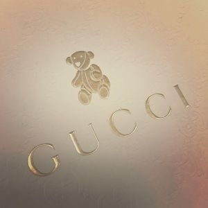 Set of 2 Gucci Baby Shoes box
