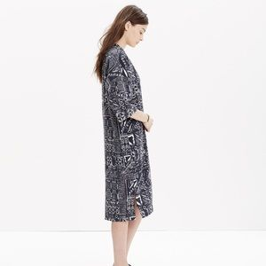Madewell Other - NWT Madewell Kimono Robe in Aztec Inkspell