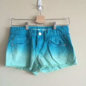 Mossimo Supply Co. Pants - Mossimo Supply Co ombré shorts
