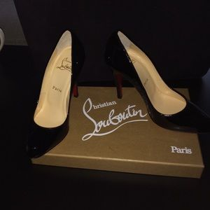 Christian Louboutin Shoes - Christian Louboutin black pumps - never been worn