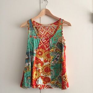 Charlotte Russe Tops - Charlotte Russe printed tank