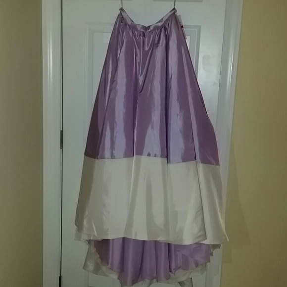 60% off Faviana Dresses & Skirts - Carrie Bradshaw inspired Purple ...