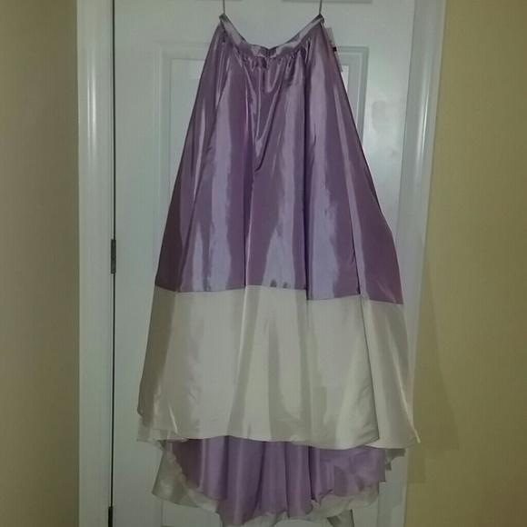 Faviana Skirts | Carrie Bradshaw Inspired Purple Ball Gown Skirt ...