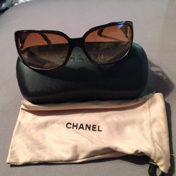 9dc658fd4d116 CHANEL Accessories - Chanel sunglasses. Brown from sunglass hut