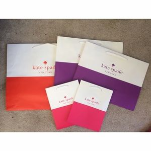 Kate Spade Gift Bag Bundle