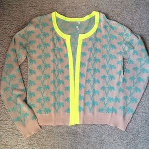 Willow & Clay Palm Tree Cardigan