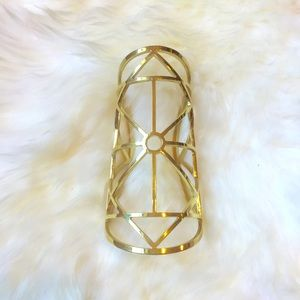 🎉HP🎉Pamela Love Large Statement Gold Cuff