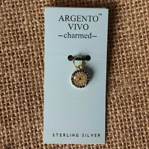 Argento Vivo Jewelry - Evil eye small charm - sterling silver