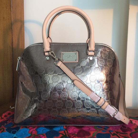 ee5d4798192ead Michael Kors Bags | Satchel Medium Nickel | Poshmark