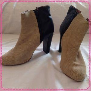 H&M Shoes - H&M COLORBLOCK ANKLE BOOTS