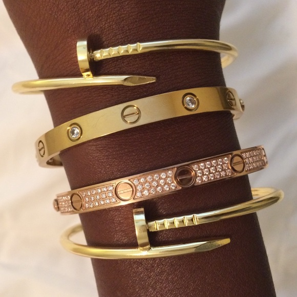 9d0528a8cc1a3 Juste Un Clou bracelet, celebrity fav!! NWT