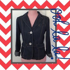 Ann Taylor Jackets & Blazers - 🍁 Fall denim jacket 🍂