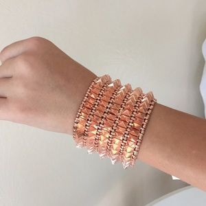 8 Other Reasons Jewelry - Stunning Rose Gold Cuff