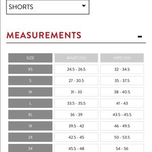 Spanx intimates sleepwear size chart for reference poshmark