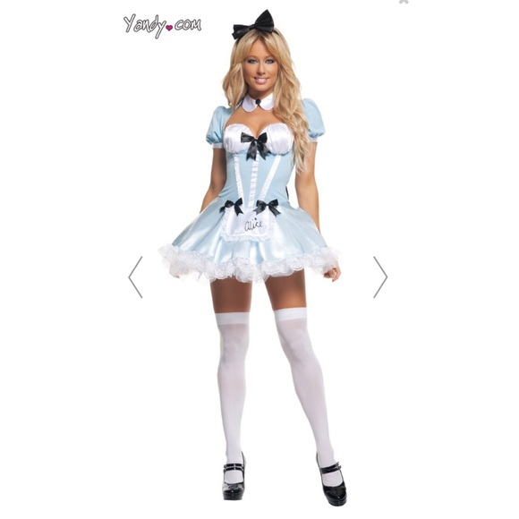 sexy halloween alice wonderland costume