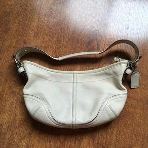 Coach mini pouchette handbag
