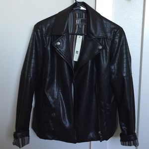 Never worn KUT from the Kloth vegan leather jacket