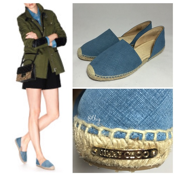 Jimmy Choo Dreya D'Orsay Espadrilles with mastercard cheap price cheap get to buy with credit card cheap price free shipping extremely NrgPp