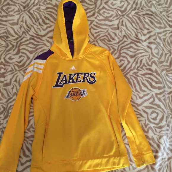 factory price superior quality buying new Adidas Lakers Pullover Hoodie