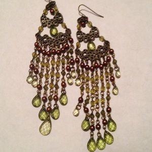 Pretty boho chandelier earrings!
