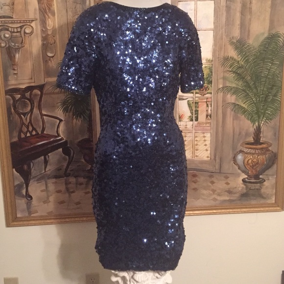 Lillie Rubin Dresses | Vintage Sequin Couture Dress | Poshmark