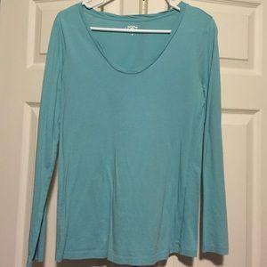 ✅ Lowered Price ✅Loft teal long sleeved Tshirt