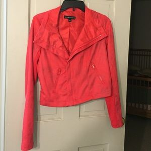 Rock & Republic Pink Jacket size 6