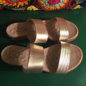 Malu Shoes Slide On Sandals Made In Brazilsize 9 Poshmark