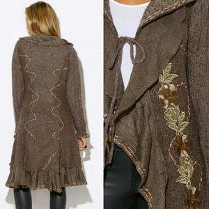6aceebe07e Boutique Sweaters - Long cardigan sweater coat jacket tunic Sexy Boho
