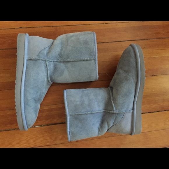 2715c8c8e6f Light blue classic short ugg boots