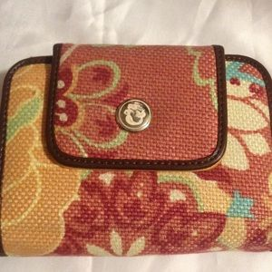 Spartina 449 Handbags - Spartina 449 fabric wallet