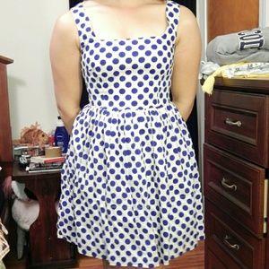 Delia's Polka-dot Dress