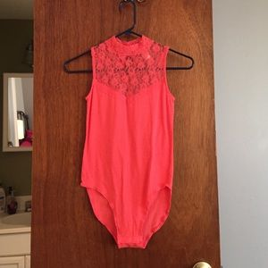 Other - Coral lace bodysuit