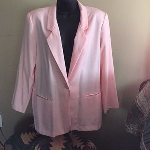 Jaclyn Smith pink blazer
