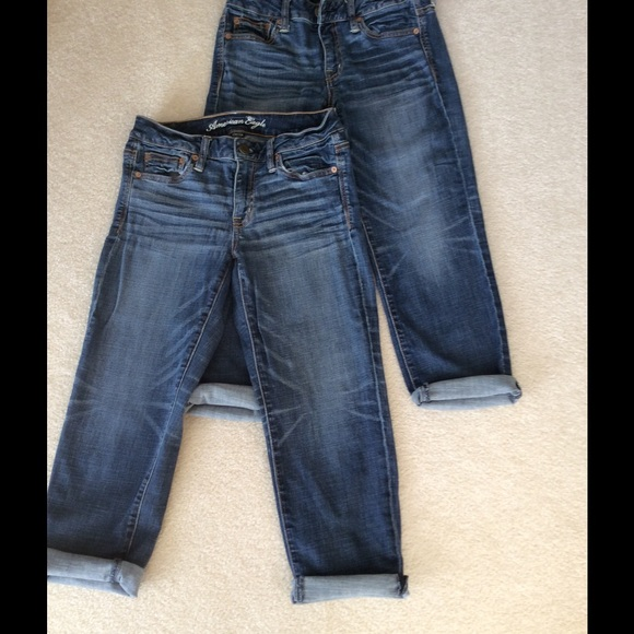 American Eagle Capri Boy Fit Jeans