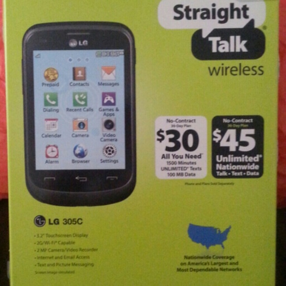 cheaper f4ee6 f74fd LG Wireless Cell Phone Accessories | Lg 305c Touch Screen By ...