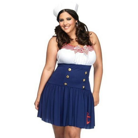 torrid other torrid plus size 3x4x sailor costume halloween - Cheap Plus Size Halloween Costumes 4x
